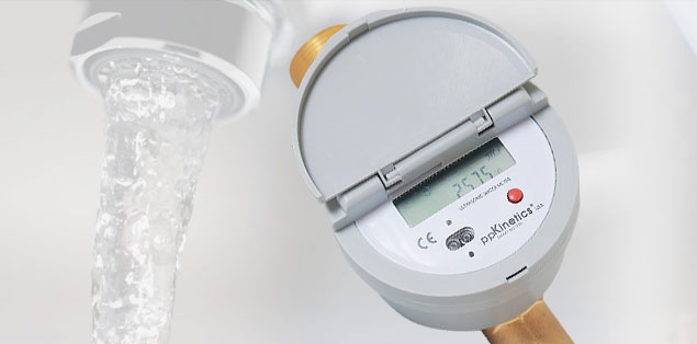 how to read a commercial water meter